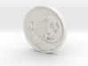 To the Moon Crypto Predictor Coin 3d printed