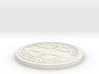 1:9 Scale Customizable Hayward manhole cover 3d printed