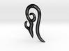 loop earring 4GA 3d printed