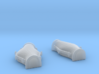 1/125 USN Cable Locker Covers Foredeck 3d printed