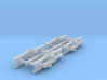 #160-1099 Truck frames for static display 3d printed