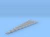 HO Stairs assorted 10pc 3d printed