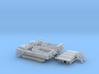 1:100 - Sd.Kfz 10  Half-Track  (2 pack) 3d printed
