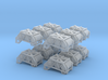 1/200 DKM Release Track Depth Charge Set x12 3d printed