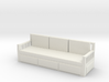 Printle Thing Sofa 04 - 1/24 3d printed