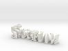 3dWordFlip: Saksham/Sharma 3d printed