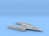 R2 Clone Wars Y-wing variant 1/270 3d printed