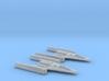 R2&R5 Clone Wars inspired Y-wing pack 1/270 3d printed