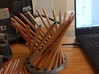 Parabolic 36p. Pencil Holder 3d printed With 18 Pencils