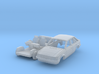 Ford Escort 5-door (British N 1:148) 3d printed