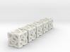 Celtic D6 x5 Dice Set - Solid Centre for Plastic 3d printed