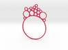 Bracelet with bubble maker 3d printed