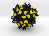 Black Queen Cell Virus 3d printed