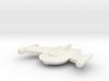 3788 Scale Romulan Snipe Frigate MGL 3d printed