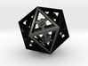 D20 Epoxy Dice extra large edition 3d printed