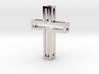 Silhouette Cross Pendant 3d printed