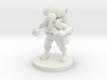 Dwarf Wizard Gathering Components 3d printed