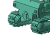 1/64th Large Bulldozer tractor 3d printed