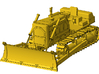 1/64th Straight Blade for Large Bulldozer 3d printed As seen in place on bulldozer