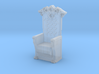 Printle Thing Throne 02 - 1/87 3d printed