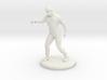 Biker Zombie Statuette 3d printed