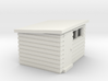 Garden Shed (Pent Roof) 3d printed