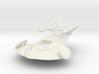 Stingray Spaceship 3d printed