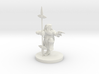 Dwarf Monk / Weaponmaster 3d printed