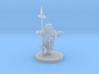 Dwarf Monk / Weaponmaster 3d printed