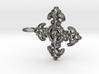 Croix Fleur de Lys baroque 3d printed
