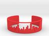 Chicago Skyline Bracelet v2.0 3d printed