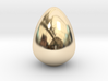 The Golden Egg 3d printed