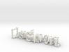 3dWordFlip: LisaSamuel/JuniNiljas 3d printed