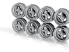 Hayashi Command 8-6 Hot Wheels Rims 3d printed