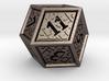 Hedron D12 (Hollow), balanced gaming die 3d printed