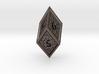 Hedron D6 (Hollow), balanced gaming die 3d printed