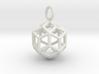 Pendant_Rhombic-Triacontahedron 3d printed