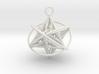 Pendant_Orbital-Merkaba 3d printed