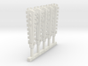 Techno Macuahuitl (x5) 3d printed
