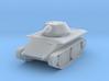 DW18B Leopard Light Tank E-10 (1/100) 3d printed