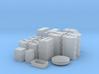 1:43 DEAGO FALCON YT1300 ANH CARGO BOX SET CMPLT 3d printed