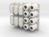 DeAgo Falcon lots & lots of Barrels Boxes & crates 3d printed