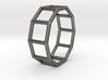 0343 Decagonal Prism E (a=1cm) #001 3d printed