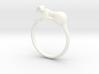 Feline Band - Ring version 3d printed