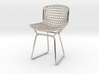 Knoll Bertoia Side Chair Frame 1:12  Scale 3d printed