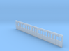 GWR Carriage side Diagram D2 40ft in 4mm scale 3d printed