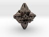Floral Dice – D10 Spindown Life Counter die 3d printed