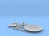 Satellite dish (30+60mm) - combo 3d printed