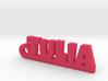 TULIA_keychain_Lucky 3d printed