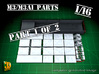 M3/M3A1 halftrack parts (1/16) (1of2) 3d printed M3 / M3A1 halftrack parts for Trumpeter 1/16 kit - part 1 of 2